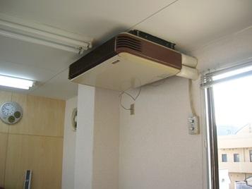 エアコン更新工事前