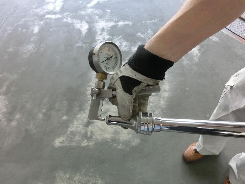消防設備点検 屋内消火栓設備 放水テスト