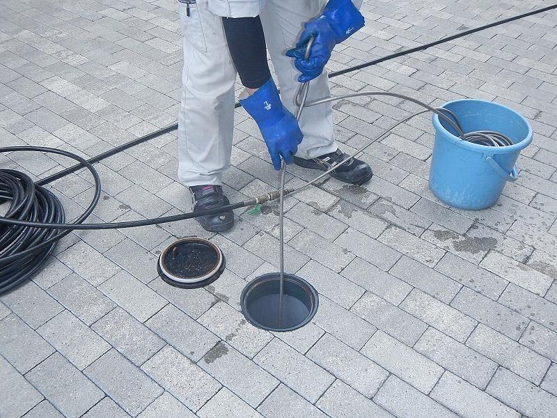 マンション排水管洗浄 外部共用管