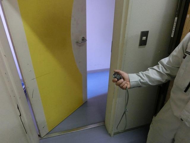 特殊建築物定期調査 防火扉 運動エネルギー測定法