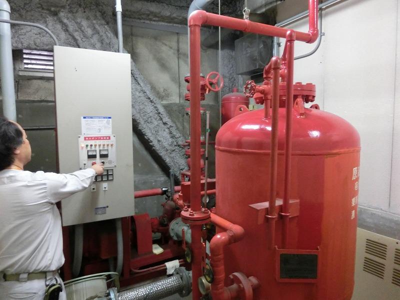 消防設備点検 泡消化設備 点検