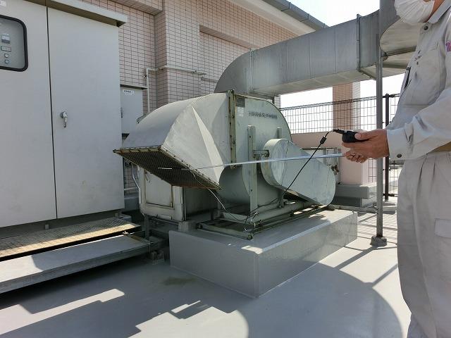 建築設備検査 機械排煙設備 性能検査
