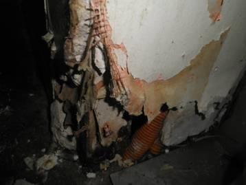 ネズミ防除 侵入口閉塞工事