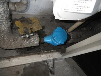 水道メーター交換工事 交換後