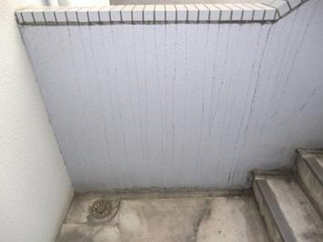 5 マンション腰壁 特殊洗浄前