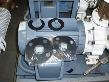 給排水設備修理・工事・調査 給水ポンプユニット フランジパッキン交換