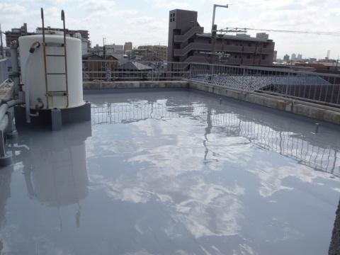 改修工事 屋上防水工事