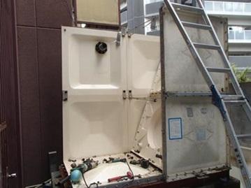 改修工事 給水直結工事 受水槽撤去