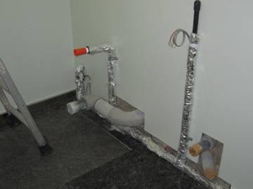 改修工事 既設ビル トイレ新設工事
